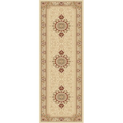 Clarence Beige/Tan Area Rug Rug Size: Rectangle 2 x 3