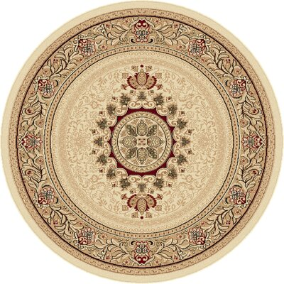 Clarence Beige/Tan Area Rug Rug Size: Octagon 7'10