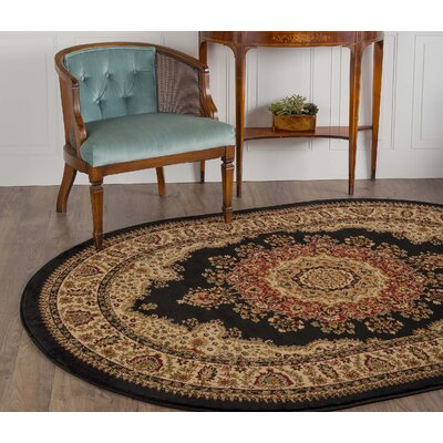 Clarence Black Area Rug Rug Size: 710 x 103
