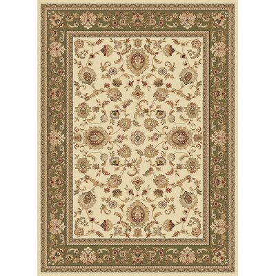 Clarence Beige Area Rug Rug Size: Rectangle 5 x 8