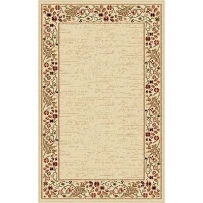 Clarence Beige Area Rug Rug Size: Rectangle 8 x 11