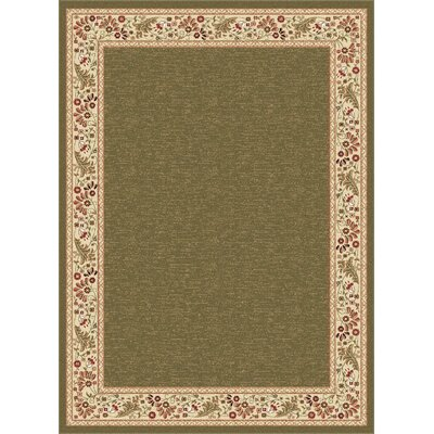 Clarence Green Area Rug Rug Size: Rectangle 8 x 11