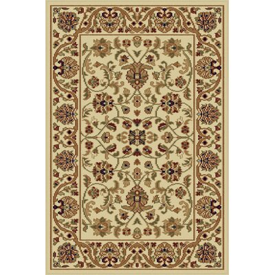 Clarence Beige Area Rug Rug Size: Rectangle 9 x 12