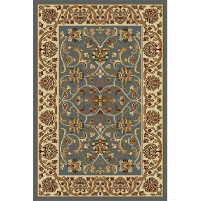 Clarence Blue Area Rug Rug Size: 2 x 3