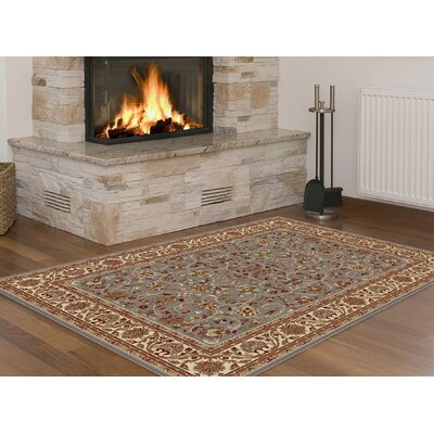 Clarence Blue Area Rug Rug Size: Rectangle 5 x 8