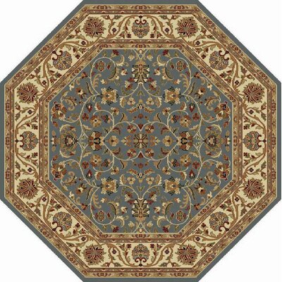 Clarence Blue Area Rug Rug Size: Octagon 8