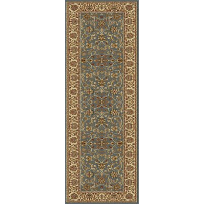 Clarence Blue Area Rug Rug Size: Runner 27 x 73