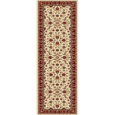 Clarence Beige Area Rug Rug Size: Runner 2 x 8