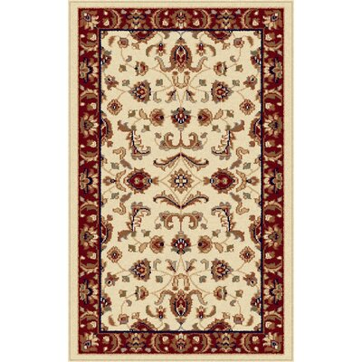 Clarence Beige Area Rug Rug Size: Rectangle 7 x 10