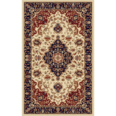 Clarence Beige Area Rug Rug Size: 2 x 3