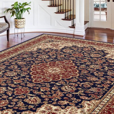 Clarence Machine Woven Polypropylene Area Rug Rug Size: Rectangle 8 x 11