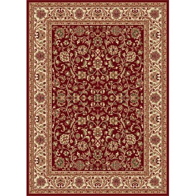 Clarence Red Area Rug Rug Size: Rectangle 9 x 12