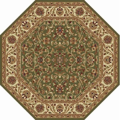 Clarence Green Area Rug Rug Size: Octagon  8