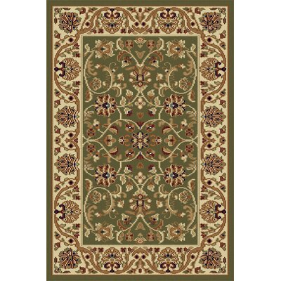 Clarence Green Area Rug Rug Size: Rectangle 2 x 3