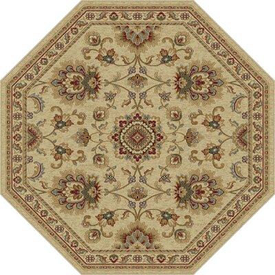 Clarence Ivory Area Rug Rug Size: 710 x 103