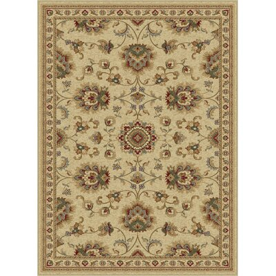 Clarence Ivory Area Rug Rug Size: Rectangle 7 x 10