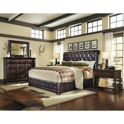Carnaghliss King Platform Customizable Bedroom Set-Carnaghliss Wood Bedroom Bench