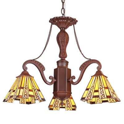 Charlotte Progressive 3-Light Mini Chandelier