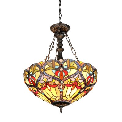 Laurie 2-Light Inverted Ceiling Pendant