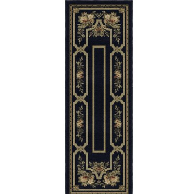 Jacques Evening Black/Gray Area Rug
