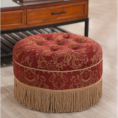 Opehlia Decorative Round Ottoman