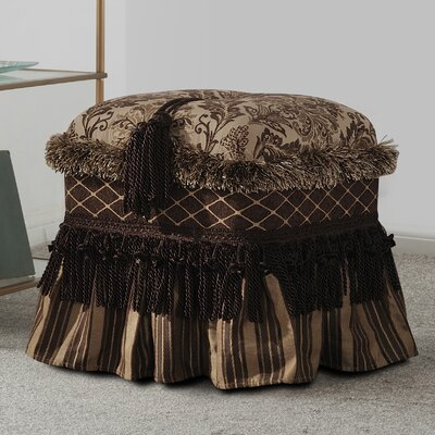 Seraphina Traditional Decorative Ottoman