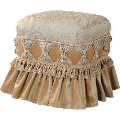 Primrose Traditional Decorative Ottoman
