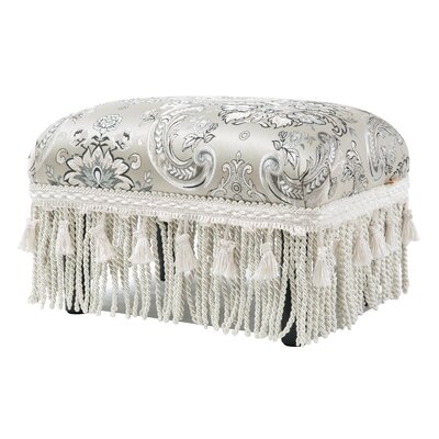Julia Traditional Decorative Footstool Ottoman