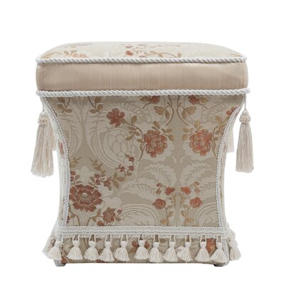 Grace Traditional Pedestal Ottoman