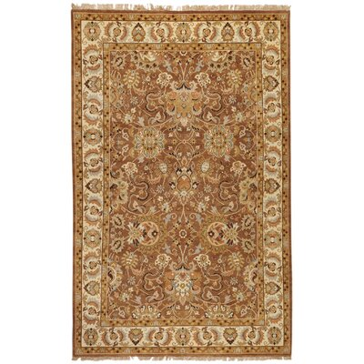 Barlett Light Brown Rug Rug Size: Round 8