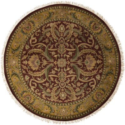 Barlett Burgundy Rug Rug Size: Rectangle 86 x 116