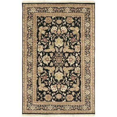 Barlett Black/Tan Rug Rug Size: Rectangle 56 x 86