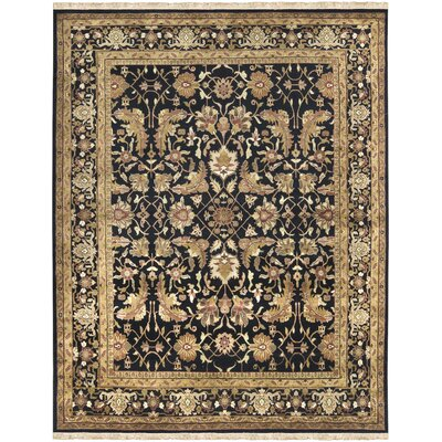 Barlett Black/Tan Rug Rug Size: Rectangle 86 x 116