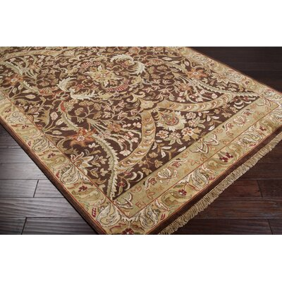 Barlett Brown/Beige Rug Rug Size: Rectangle 56 x 86
