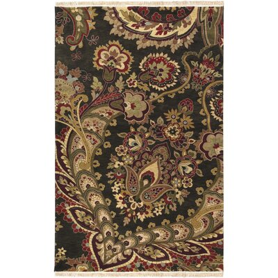 Barlett Black Rug Rug Size: Rectangle 56 x 86