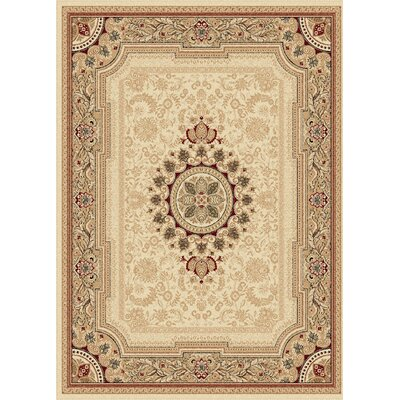 Clarence Beige/Tan Area Rug Rug Size: Rectangle 11 x 15