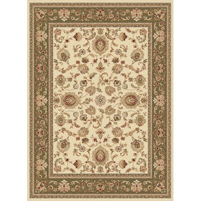 Clarence Tan/Red/Beige Area Rug