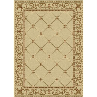 Clarence Ivory Area Rug Rug Size: Rectangle 11 x 15