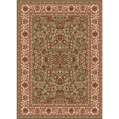 Clarence Green Area Rug Rug Size: Rectangle 11 x 15