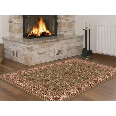Clarence Green/Beige/Gold Area Rug
