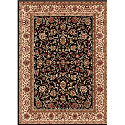 Clarence Black/Brown Area Rug Rug Size: Rectangle 11 x 15