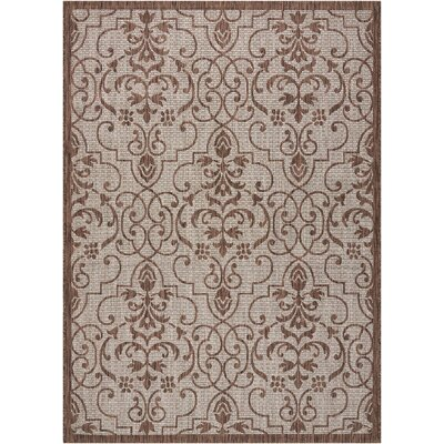 Bedervale Natural Indoor/Outdoor Area Rug Rug Size: Rectangle 53 x 73