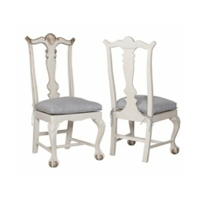Batchelder Side Chair Finish: Manor White Wash/Champagne Gold