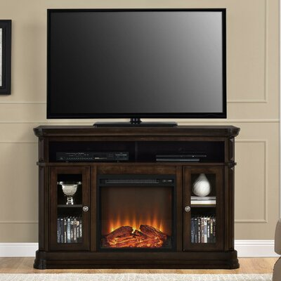 Ganado TV Stand with Electric Fireplace