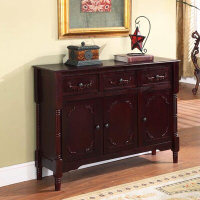 Glen Arbor Console Table Finish: Cherry