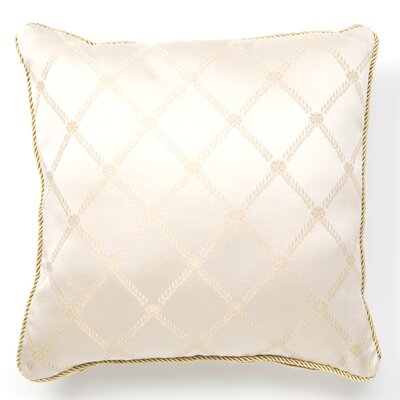 Bedford Decorative Throw Pillow Color: Beige