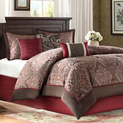 Fenton 7 Piece Comforter Set Size: King