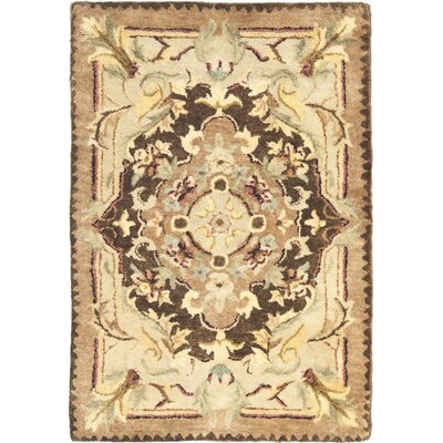Bedgood Brown/Beige Area Rug Rug Size: 2 x 3
