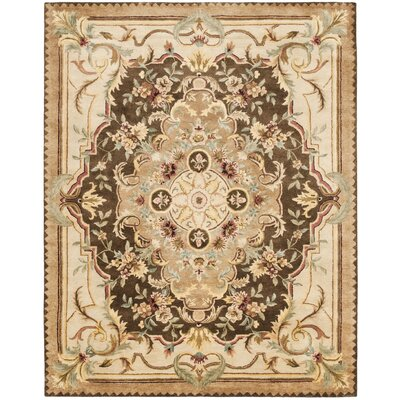 Bedgood Brown/Beige Area Rug Rug Size: 83 x 11
