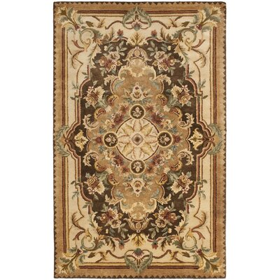 Bedgood Brown/Beige Area Rug Rug Size: 5 x 8